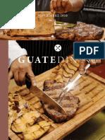 Colaboración en la revista Guatedining - Edición 45 - Octubre 2018