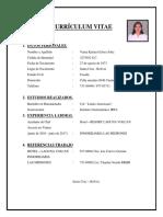 Curriculum Vitae Karina