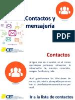 2 - Contactos y Mensajería de Correo Electrónico