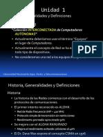 Presentacion U1Redes y Telecomunicaciones