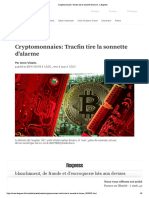 Cryptomonnaies- Tracfin Tire La Sonnette d'Alarme