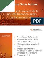 Levaduras Impacto de La No Rehidratacioìn de LSA Sergio Aloisio