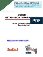 Clase 03 Estadistica y Probabilidad Minas 2018