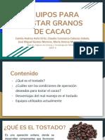 Equipos Para Tostar Cacao