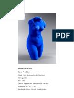 Yves Klein - o Azul e o Vazio Veiculos