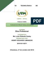 Henry Eduardo Umanzor, Tarea Modulo 4