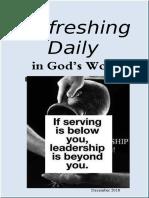 """Leadership"" December 2018"