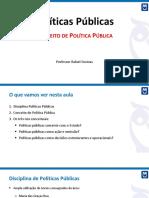 Aula 01 Conceito de Politica Publica