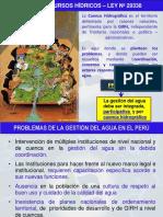 Problemas de La Gestion Del Agua en El Perú