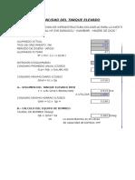 DISEÑO CISTERNA Y TANQUE ELEVADO SARAYACU.xls