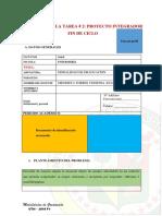 Matriz Proyecto Integrador de Fin de Ciclo