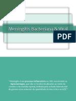 Meningites Viral e Bacteriana