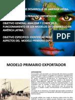 Modelo Primario Exportador Corregido