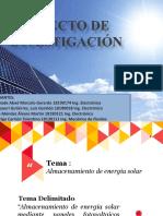 PPT Proyecto de Investigacion Paneles Solares UNMSM