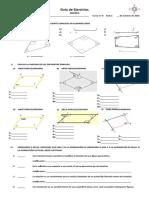 guia de ángulos en cuadrilateros y t. isometricas