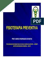 Aula 1 - Fisioterapia Preventiva