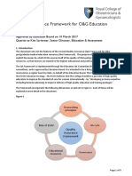 Quality Assurance Framework