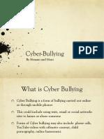 Cyber Bullying Law Reform