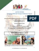 Domingo XXIII Del Tiempo Ordinario Ciclo B