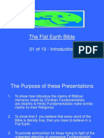 1 Flat Earth Bible 01 of 10 Introduction