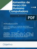 Fundamentos de I H C 1 2018