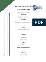 Ensayo - Estudio de Factibilidad Tecnica