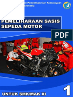 Pemeliharaan Sasis Sepeda Motor