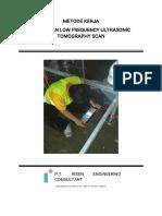 Metode Kerja Concrete Tomograph