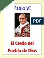 Credo Del Pueblo de Dios Pablo VI