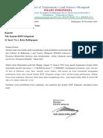 Surat Kerja Sama HiMSO III