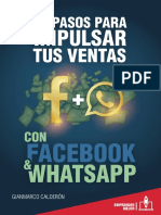eBook 10 Pasos Para Impulsar Tus Ventas Con Facebook & Whatsapp