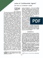 The Identification of Antihistaminic Agents