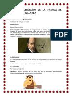 Análisis Literario de La Fábula de Polifemo y Galate1