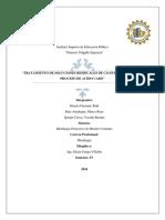 Informe Fundicion Del Plomo