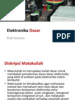Kuliah Elektronika Dasar