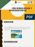 Afectación Hidrológica y Geohidrológica