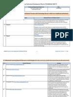 a7 professional development plan ihall