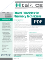 Ethical Principles For Pharmacy Technicians