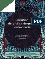 Inclusión del análisis género en la Ciencia