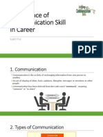 Importance of Communication Skill in Career