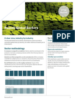 Russell Global Sectors Methodology Overview