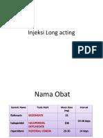 Injeksi Long Acting