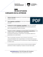Requisitos e Información Sobre Reválidas de Universidades Extranjeras Uruguay