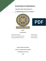 Perekonomian Indonesia SAP 12