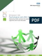 Psychological Care After Stroke