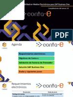 2017-04 Contabilidad Electrónica Para SAP Business One (Conta-e y Validador)