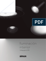 Catalogo General Iluminacion Interior Led Simon 2018