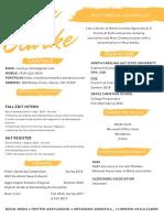 Kayla Clarke's Resume