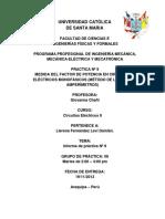 Informe 9 de Electricos II