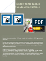 Gases Como Fuente Alternativa de Combustible